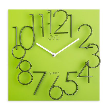 Nбstennй hodiny design JVD HB24.1 ћlt.-zel.