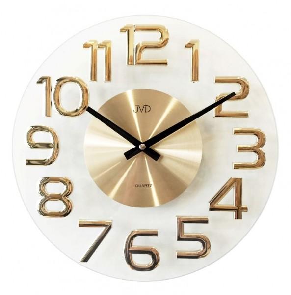 N�stenn� hodiny design JVD HT098.1 zlt.