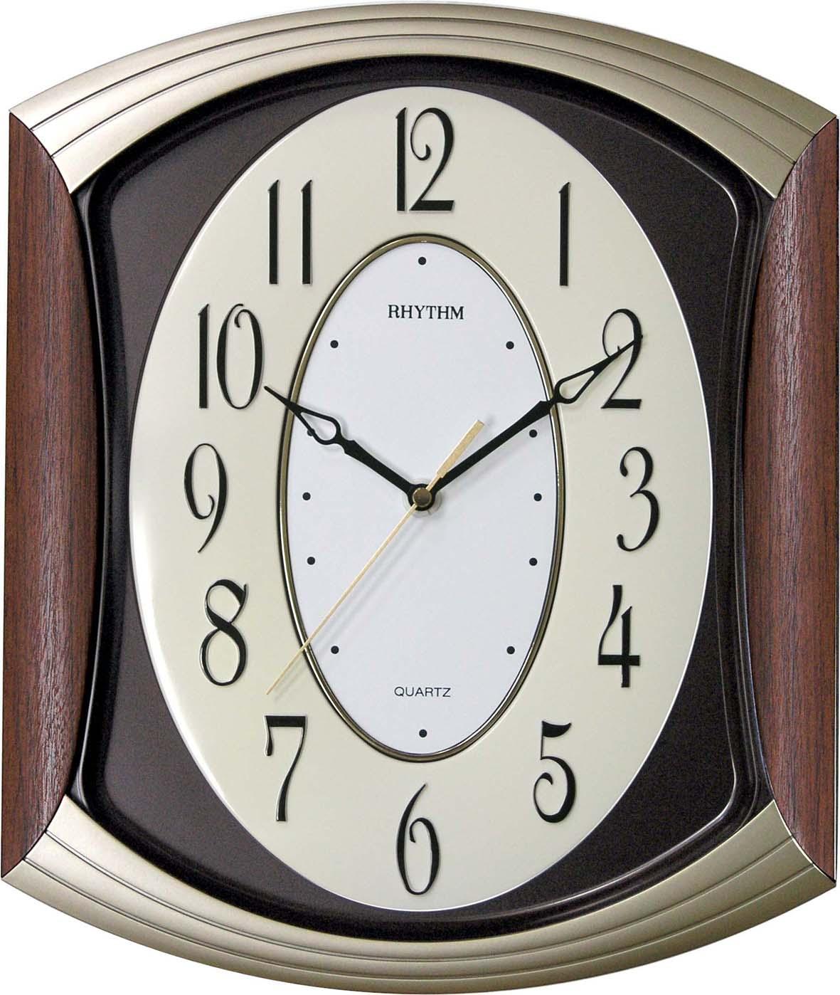 Nбstennй hodiny RHYTHM Drevo