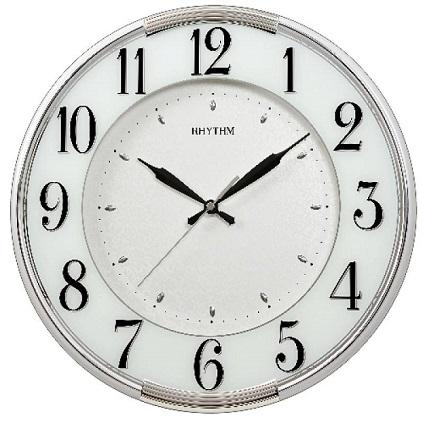 N�stenn� hodiny RHYTHM Peral white