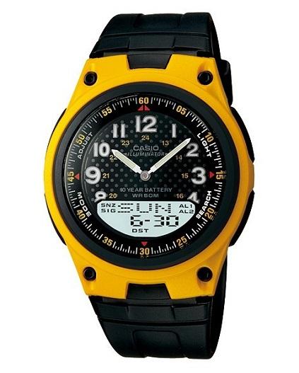 P�nske hodinky kombinovan� CASIO