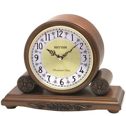 Stolovй hodiny RHYTHM s melуdiou WESTMINSTER