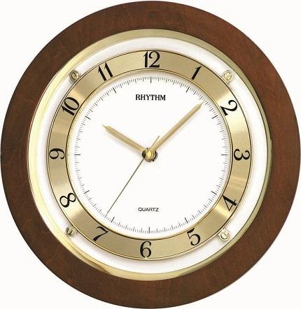 N�stenn� hodiny RHYTHM Drevo