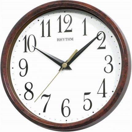 N�stenn� a stolov� hodiny RHYTHM Drevo imit�cia