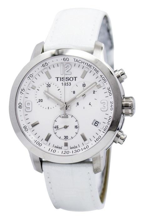 Nбramkovй hodinky TISSOT White
