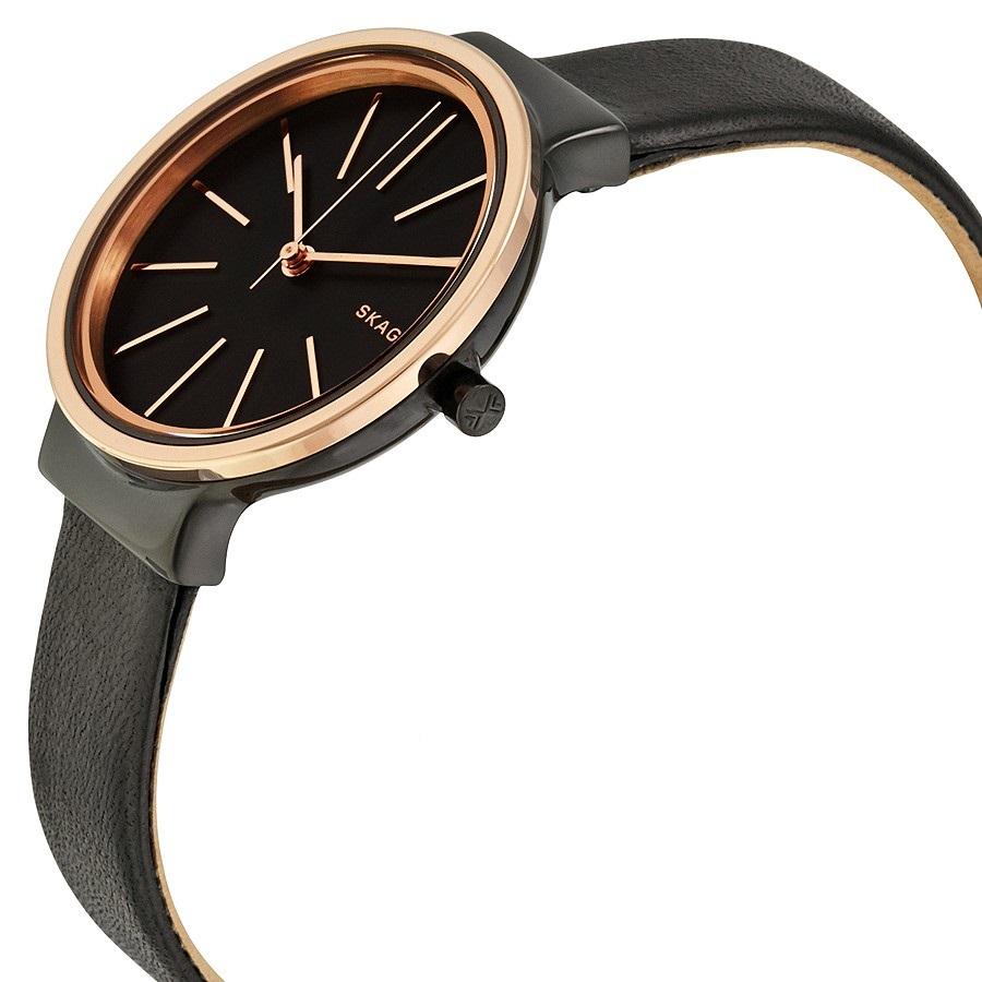 Dбmske hodinky SKAGEN Black