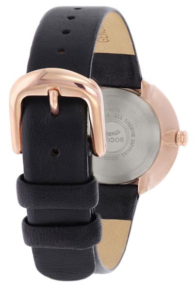 Boccia Titanium dбmske hodinky black
