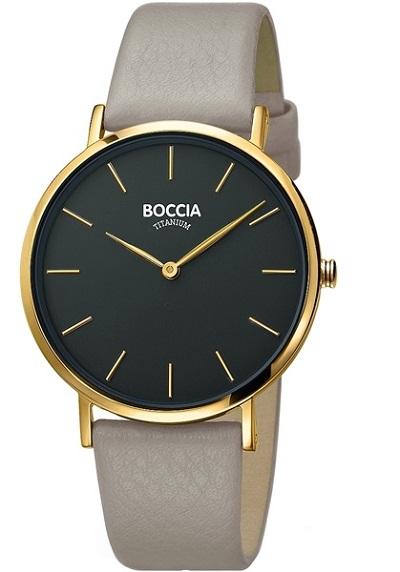 Boccia Titanium dбmske hodinky beige