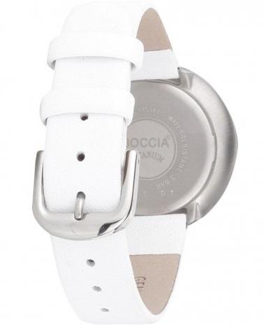 Boccia Titanium dбmske hodinky white