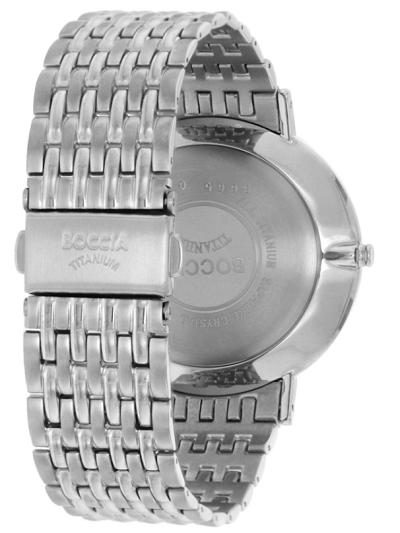 Boccia Titanium pбnske hodinky blue
