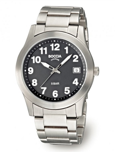Pбnske hodinky BOCCIA TITANIUM
