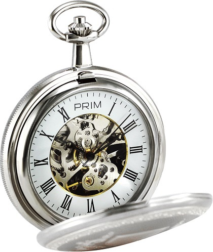 Vreckovй mechanickй hodiny PRIM