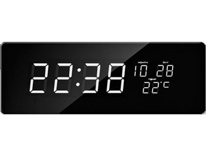 Digit�ln� hodiny JVD biele ��sla DH2.3