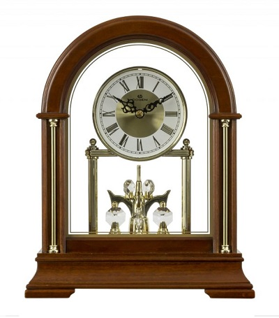 Stolovй hodiny DOGENI s rotaиnэm kyvadlom
