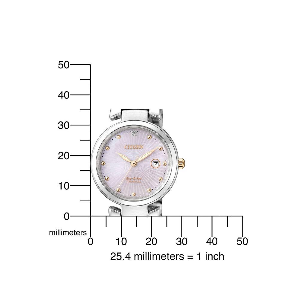 Dбmske hodinky CITIZEN ECO DRIVE TITANIUM
