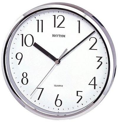 Nбstennй hodiny RHYTHM Striebornй
