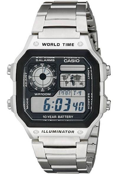 P�ske digit�lne hodinky CASIO