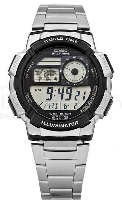 P�nske digit�lne hodinky CASIO