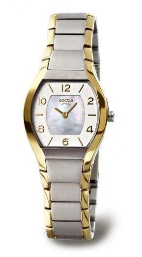 Titбnovй hodinky dбmske BOCCIA