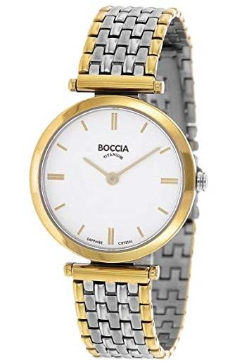 Elegantn� d�mske tit�nov� hodinky BOCCIA