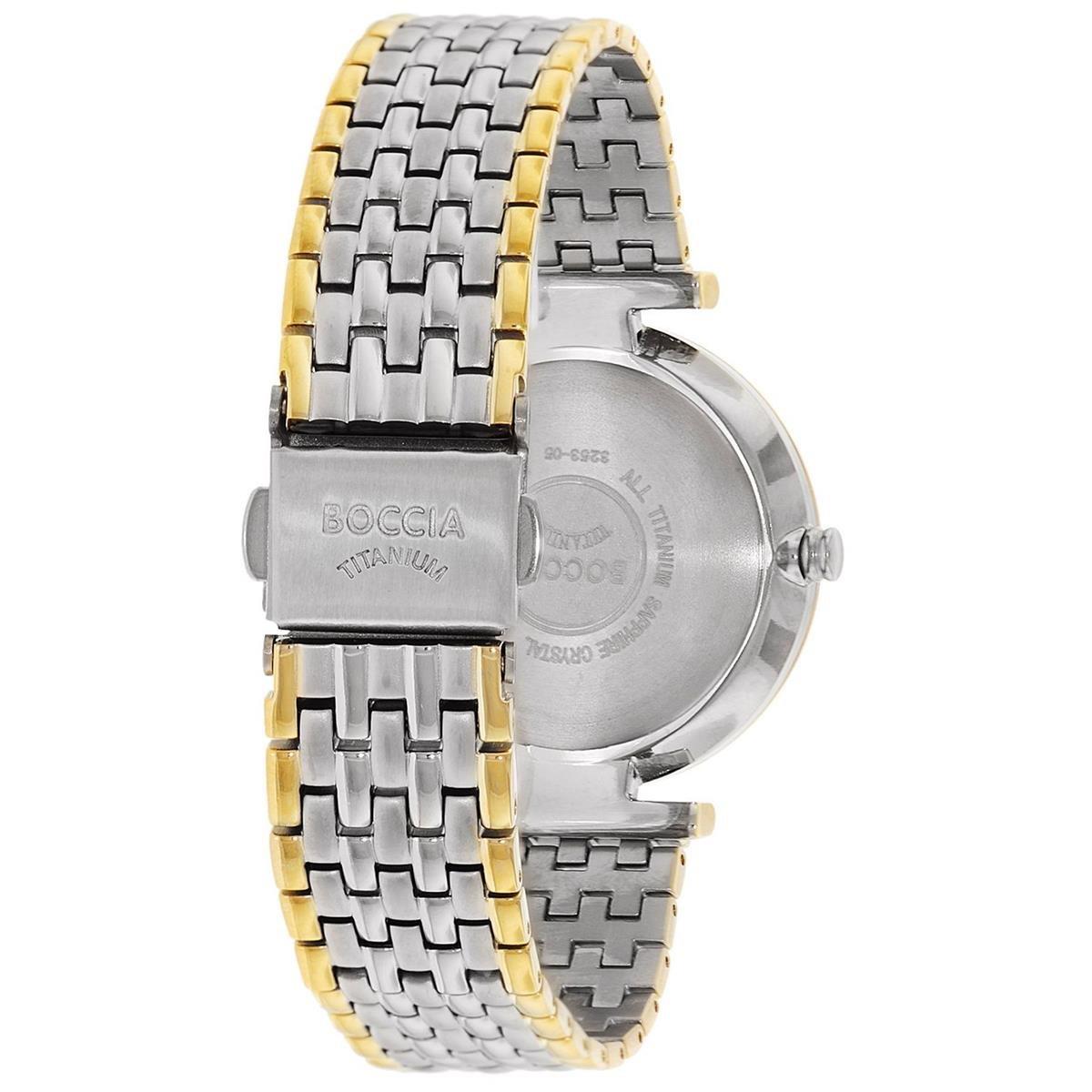 Elegantnй dбmske titбnovй hodinky BOCCIA