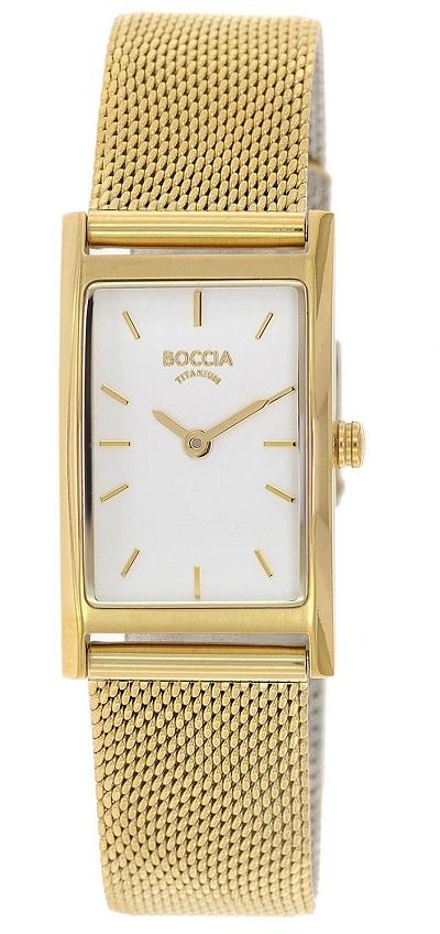 Dбmske hodinky titбnovй BOCCIA