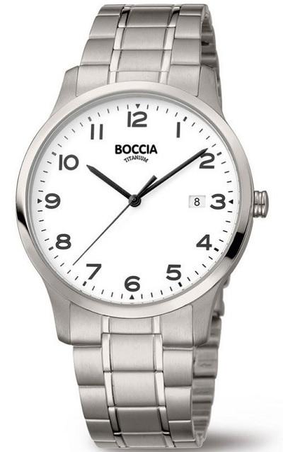 P�nske tit�nov� hodinky BOCCIA