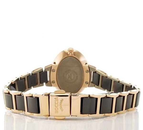 Elegantnй titбnovй hodinky BOCCIA BLACK