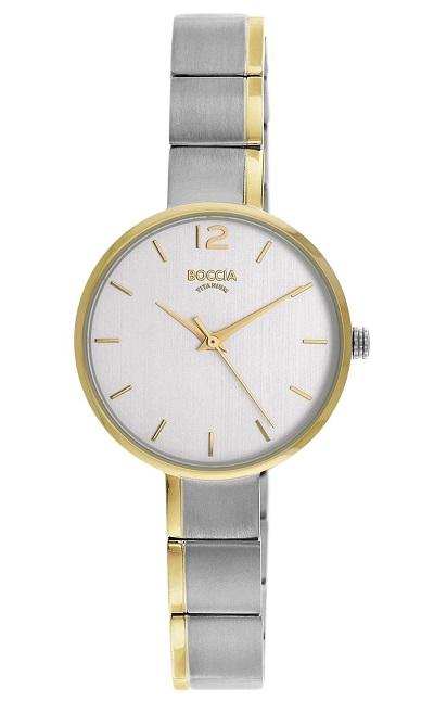 Elegantnй dбmske hodinky BOCCIA TITANIUM